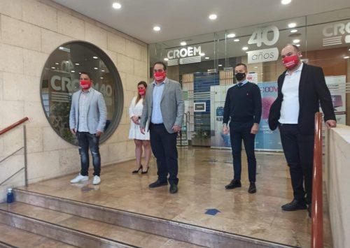 Radio Taxi Murcia y Hostemur se unen para potenciar los pedidos a domicilio en Murcia