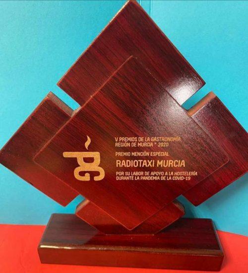 Radio Taxi Murcia galardonado en los V Premios de Gastronomía de la Región de Murcia